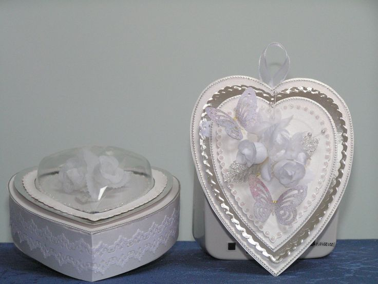 card in a box for wedding etc