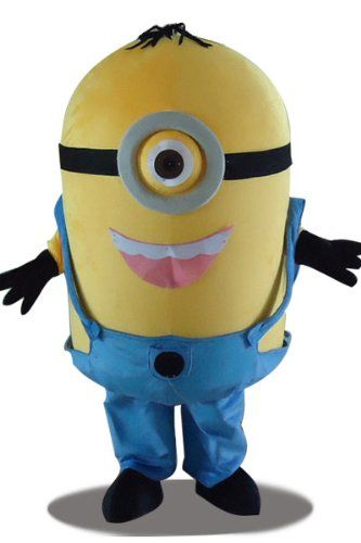 Despicable Me Stuart Minion Costume for Kids  #Minion #costume  #halloween