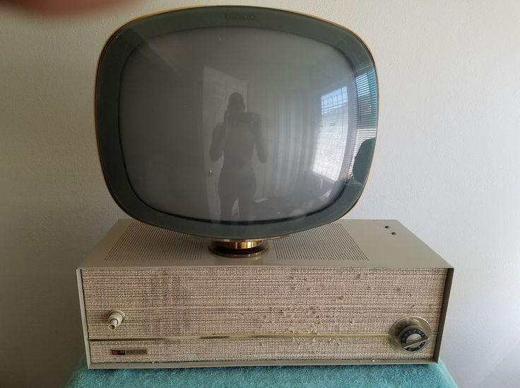 """Vintage 1958 Philco Predicta Television - Model 3408: """"Debutante"""""""