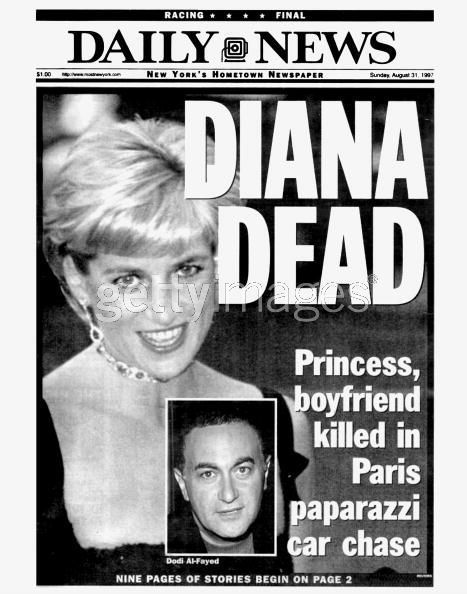 Princess Diana of Wales died as a result of injuries sustained in a car accident on 31st August 1997 in the Pont de l'Alma road tunnel in Paris