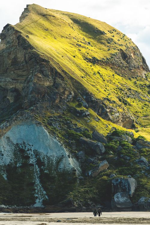 "gyclli: ""  Castlepoint, Wellington, New Zealand   Castle Rock *** By colinbooks """