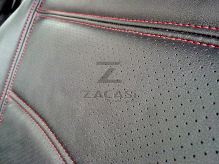 #zacasi #autositzbezüge #redseam #leder #audi #vw #mercedes