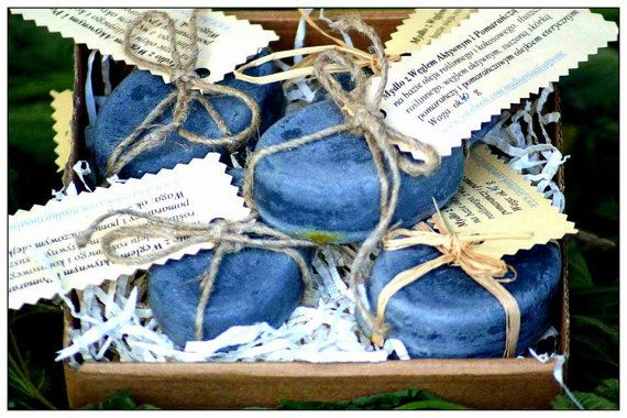 Organic handmade soap with Active Carbon by AlSaponeHandmadeSoap