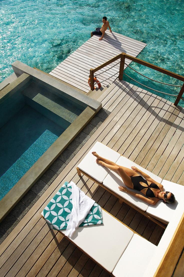 Mejores 213 im genes de playa y mar beach and sea en for Mejores resorts maldives