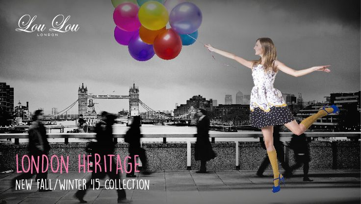 """London Heritage. From """"La Grande Boucle du Mix & Match"""" the new Fall/Winter 2015 collection from Lou Lou London"""