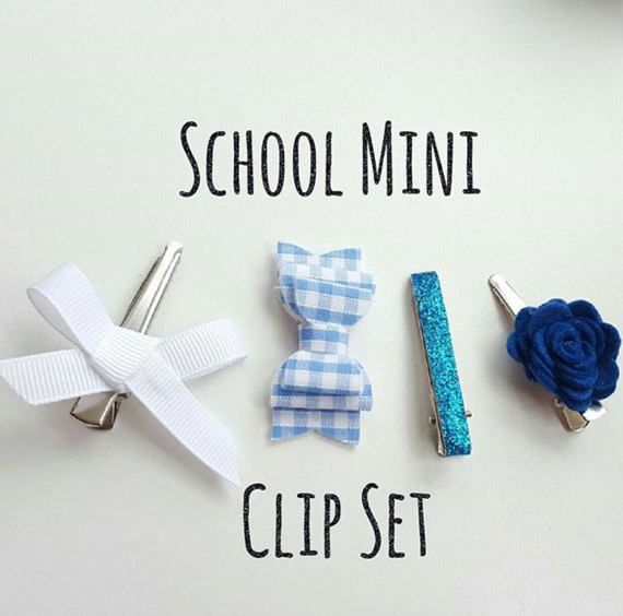 Check out this item in my Etsy shop https://www.etsy.com/uk/listing/505275456/school-mini-clip-set-fringe-clips