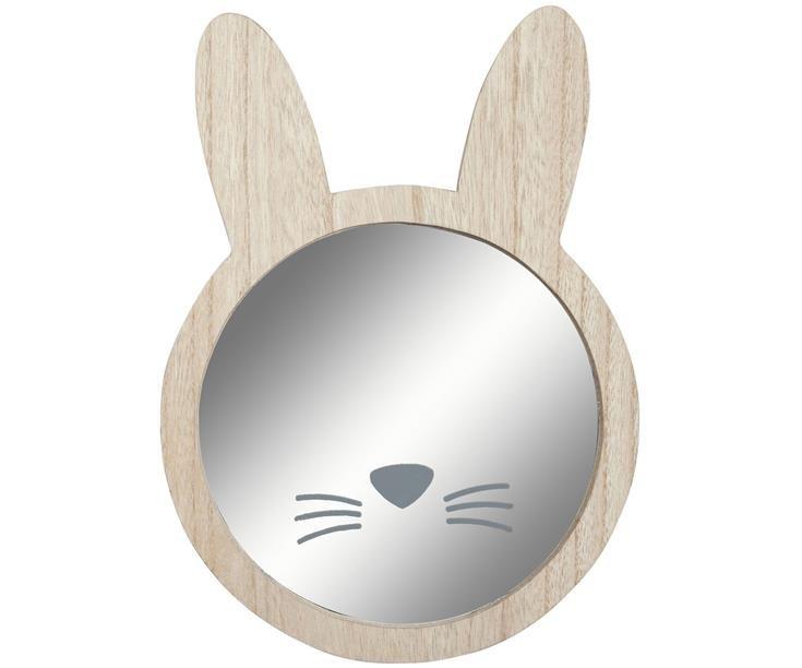 Bonvagon - Ev Aksesuarları - Tavşan Duvar Aynası