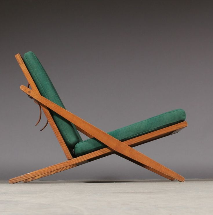 Ib Hylander; Ash and Leather Easy Chair by Søren Horn, 1954.