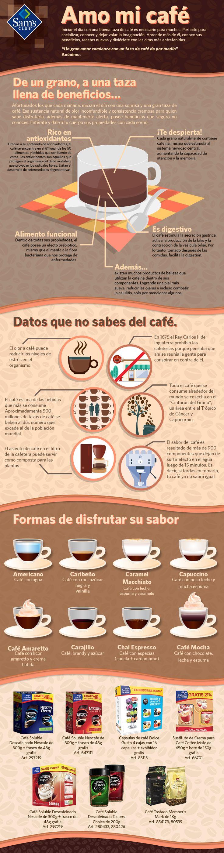 Aprende más de tu café, conoce sus beneficios, recetas nuevas y diviértete con…