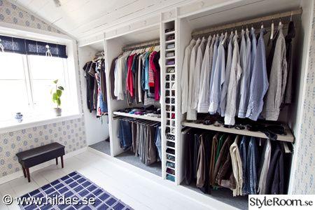 Bildresultat för klädkammare lösningar