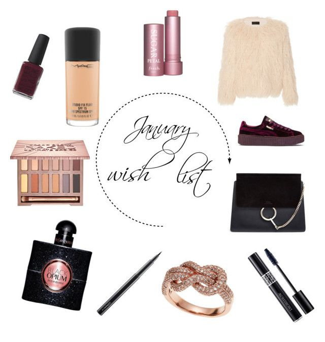 """January wish list"" by durdu-cristiana on Polyvore featuring Puma, Nili Lotan, Chloé, Effy Jewelry, MAC Cosmetics, Urban Decay, Christian Dior, Zimmermann and Yves Saint Laurent"