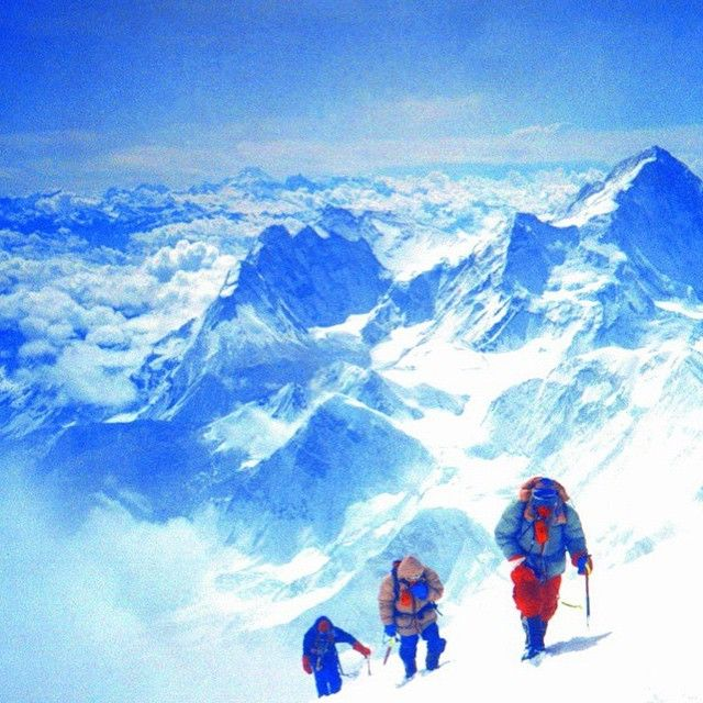 #MountEverest, the highest point on earth, is definitely a journey... but if you could make it to the top, i's sure it would be totally worth it!