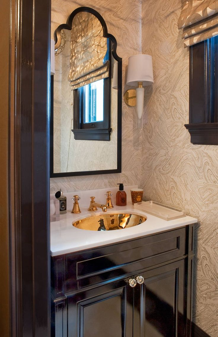 Elle decor powder rooms images for Beautiful bathrooms