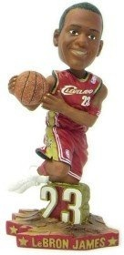 LeBron James Cleveland Cavaliers Road #23 Action dunking Pose Bobble Head rookie year