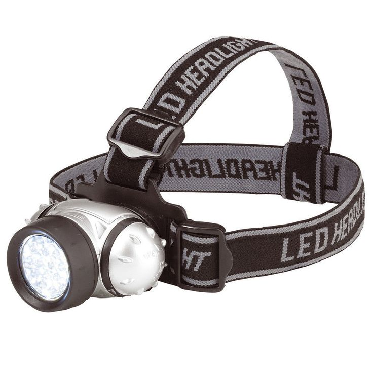 LED HEAD LAMP LIGHT TORCH CAMPING FLASHLIGHT