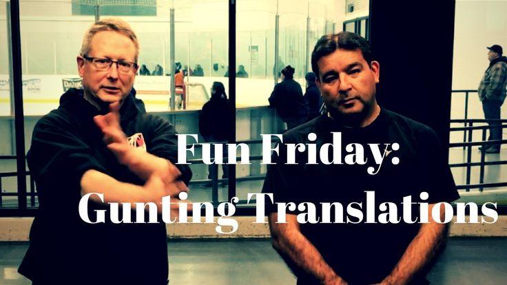 Fun Friday: Gunting Translations