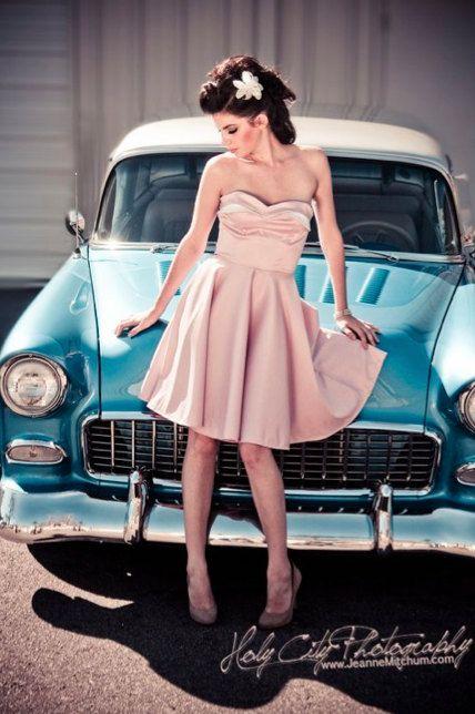 Rose Petal Bust Dress and BoleroCustom Sized by MissBrache on Etsy, $240.00