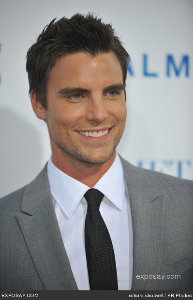 "Colin Egglesfield: The guy you saw in one movie and were like ""Who is he and why haven't I seen him in every movie there is?!?"""