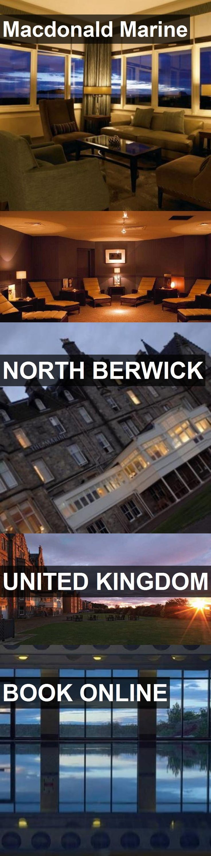 Hotel Macdonald Marine in North Berwick, United Kingdom. For more information, photos, reviews and best prices please follow the link. #UnitedKingdom #NorthBerwick #travel #vacation #hotel
