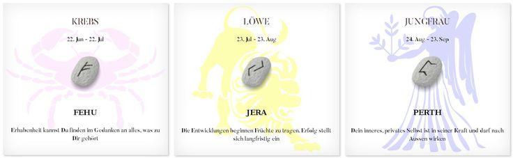 Runen Tageshoroskop 2.12.2016 #Sternzeichen #Runen #Horoskope #krebs #löwe #jungfrau
