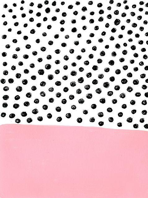 pattern | dots + pink | ashley goldberg