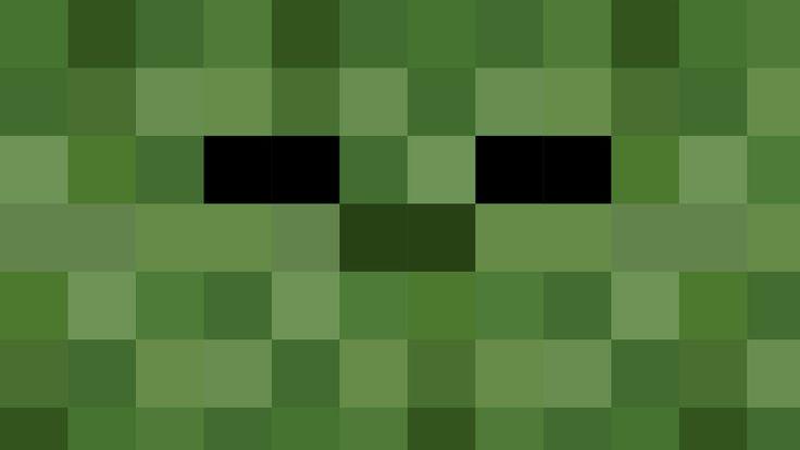 Minecraft Zombie Head | HD Minecraft Zombie Wallpaper by Karl-with-a-C on deviantART