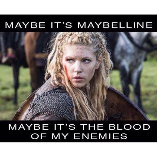This. #Vikings #Lagertha #spiritanimal