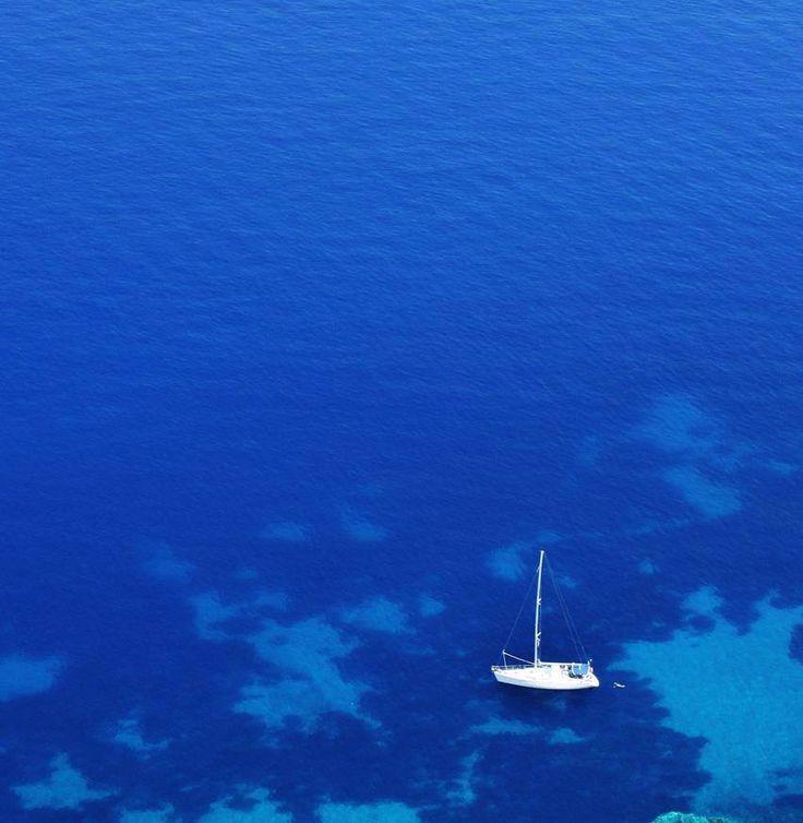 The #blue of the #Aegean Sea. #greece