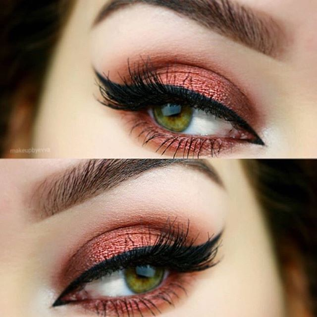 Gorgeous, fiery eyes by @makeupbyevva using a handful of NYX picks Eyebrows: Eyebrow Cake Powder - Taupe/Ash, HD Photogenic Concealer Wand - Porcelain Eyelids: Eyeshadow Base - White, Avant Pop Palette - Nouveau Chic, Prismatic Shadow - Fireball, Super Skinny Eye Marker - Black Any of these goodies on your list? || #nyxcosmetics