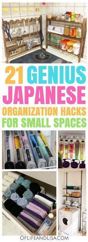 21 Genius Japanese Organization Hacks for Small Apartments – #Apartments #forapartments #Genius #Hacks #Japanese #Organization #Small