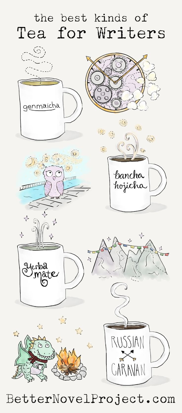 The Best Kinds of Tea for Writers | Better Novel Project