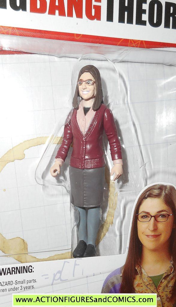 Big Bang Theory AMY FARRAH FOWLER bif bang bow toys action figures moc