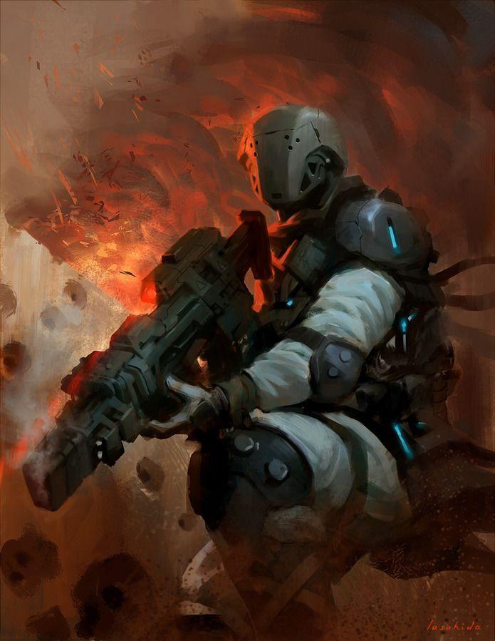 Trooper by lasahido - lius lasahido - CGHUB via PinCG.com