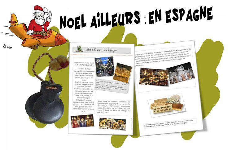 Noël ailleurs : en Espagne - Bout de gomme