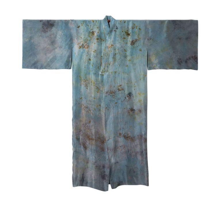 DECAY KIMONO #151 #plantdye #organicdye #naturaldye #bundledye #kimono #fashion