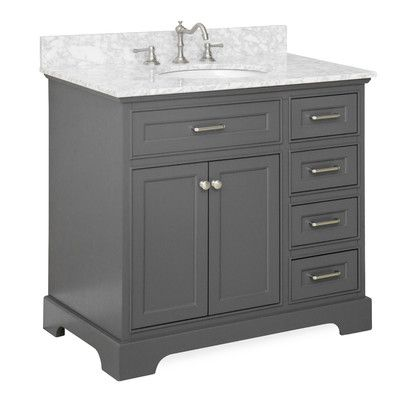 """You'll love the Aria 36"""" Single Vanity Set at Wayfair - Great Deals on all Home Improvement  products with Free Shipping on most stuff, even the big stuff."""
