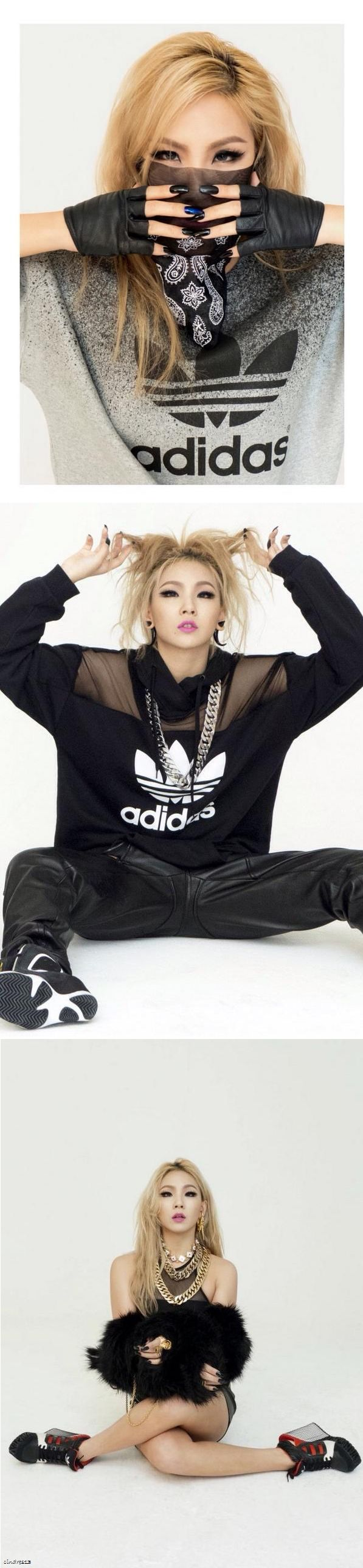 I can't choose if I like Cl better with black or blonde, it's really hard you know.