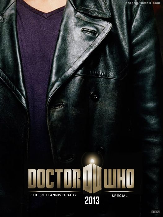 50th Anniversary PostersFans Posters, 50Th Anniversary, Anniversaries Fans, Doctors Who, 50Th Anniversaries, Leather Jackets, Dr. Who, Christopher Eccleston, 9Th Doctors