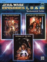 Star Wars - Episodes I, II & III (Flute)
