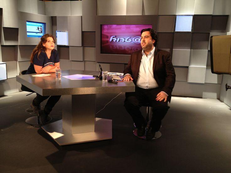 Set Design For An Interview Tv Show