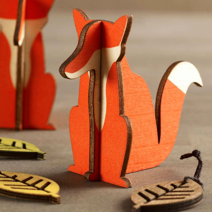 Design Ideas | Woodland Creatures | Fox Decorations