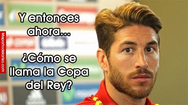 Dudas de Sergio Ramos y la Copa del Rey #sergioramos #copadelrey