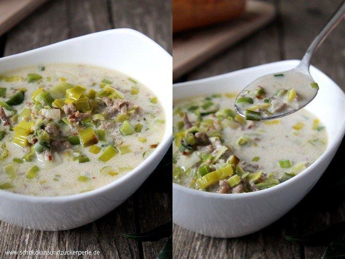 25+ parasta ideaa Pinterestissä Lauchsuppe mit hackfleisch - käse lauch suppe chefkoch