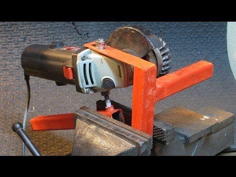 Cómo hacer una ingletadora casera, con una sierra circular portátil (1).. - YouTube