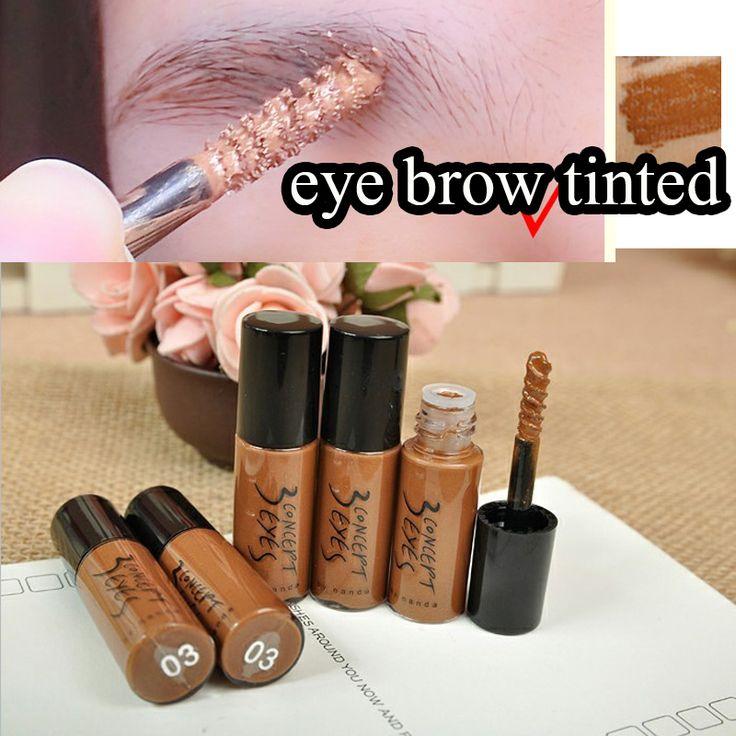 3CE sobrancelha Tinted Gel Tame rímel marrom profundo série tamanho da amostra de café marrom olho brow maquiagem N03 alishoppbrasil