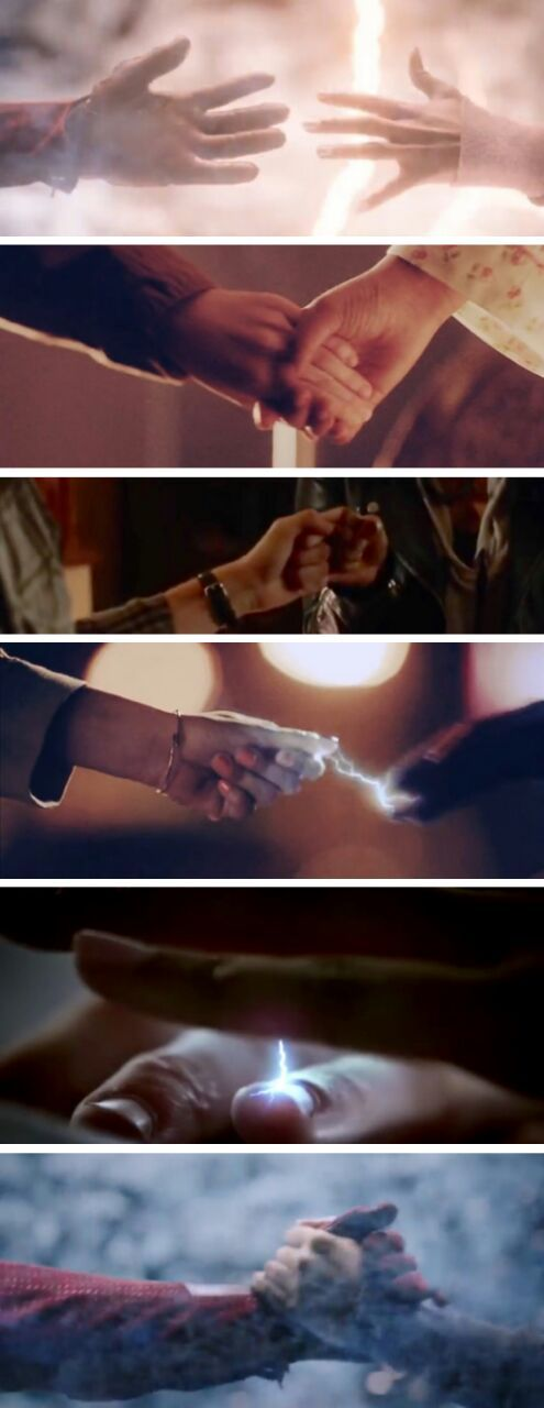 The hand that guides you home. #Westllen #TheFlash #2x21