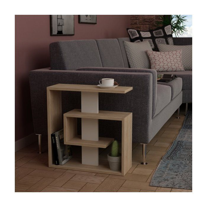 Rieves Modern End Table In 2020 Modern End Tables Modern Side