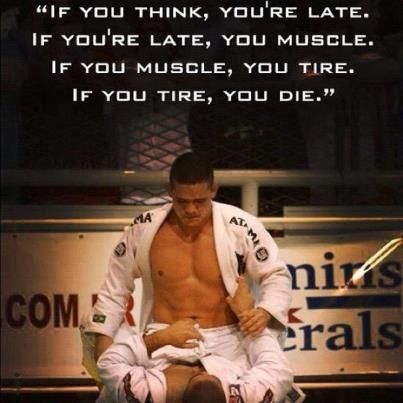 You don't have time to think, if you do, you give your opponent a chance to kill you. Don't give him that opportunity. Just do it!