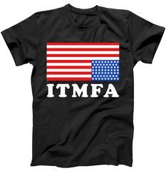 ITMFA Impeach That Mother F Already Upside Down USA Flag T-Shirt New ITMFA Impeach That Mother F Already Upside Down USA Flag design featured on tons of unique styles and colors including T-Shirts, Hoodies, Mugs, Tanks and more.