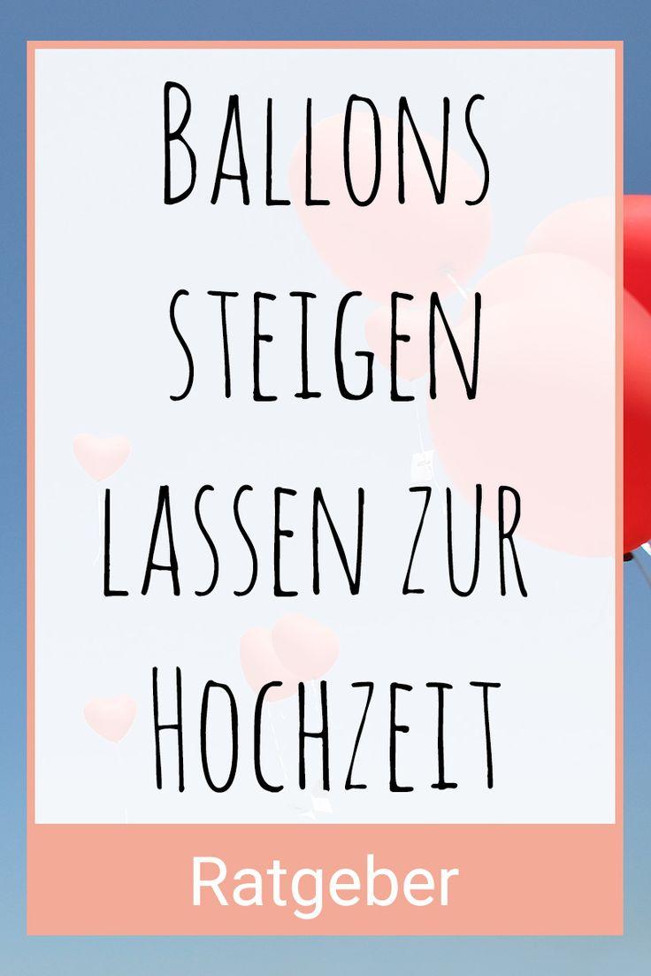 Alles rund um das Thema Ballons steigen lassen zur Hochzeit. Foto: Pincasso / Shutterstock